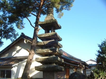 奧野八幡神社7層塔